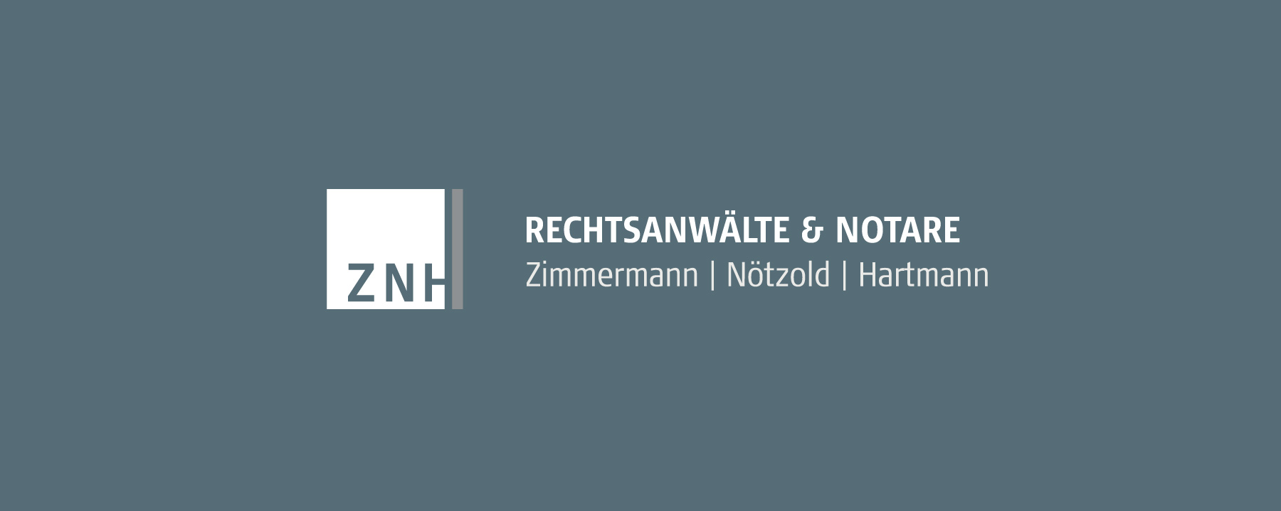 Logodesign ZNH Rechtsanwälte & Notare | Berlin | by Ilyas Susever